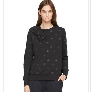 Kate Spade Glitter Polka Dot Bow Sweatshirt